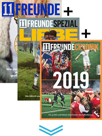 11FREUNDE & SPEZIAL & CHRONIK Upgrade
