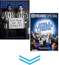 Upgrade 11FREUNDE & SPEZIAL & CHRONIK