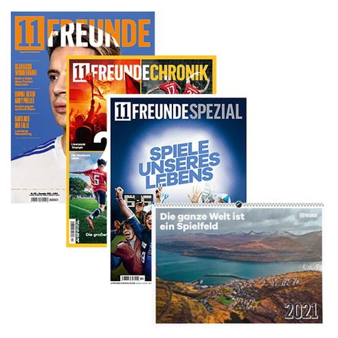 11FREUNDE & SPEZIAL & CHRONIK Print-Abo & Wandkalender 2021